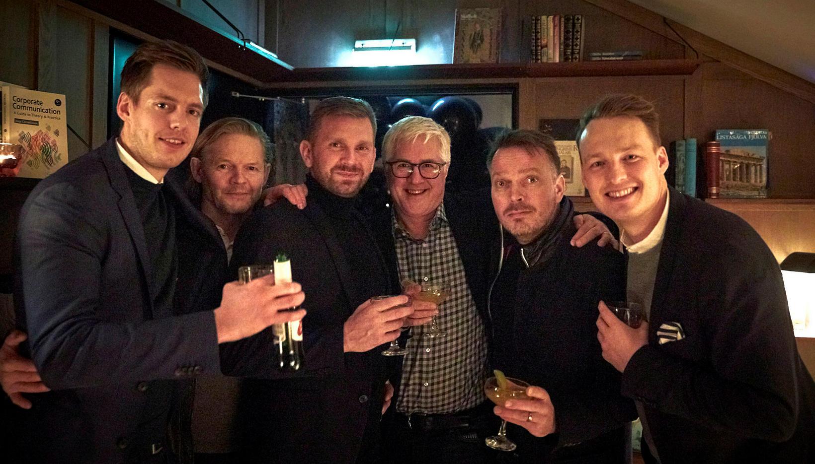Benedikt Karlsson, Björn Ingi Hilmarsson, Hjalti Harðarson, Jón Benediktsson, Vilhjálmur …