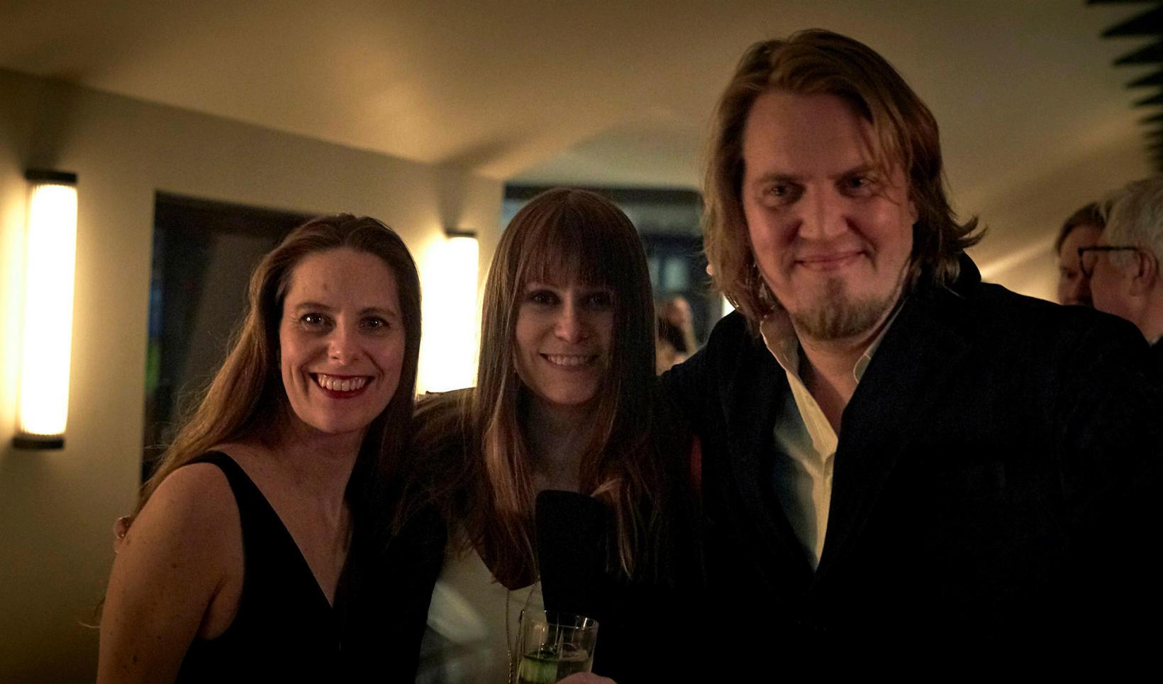 Rósa Hrund, Edda Kentish og Reynir Lyngdal.