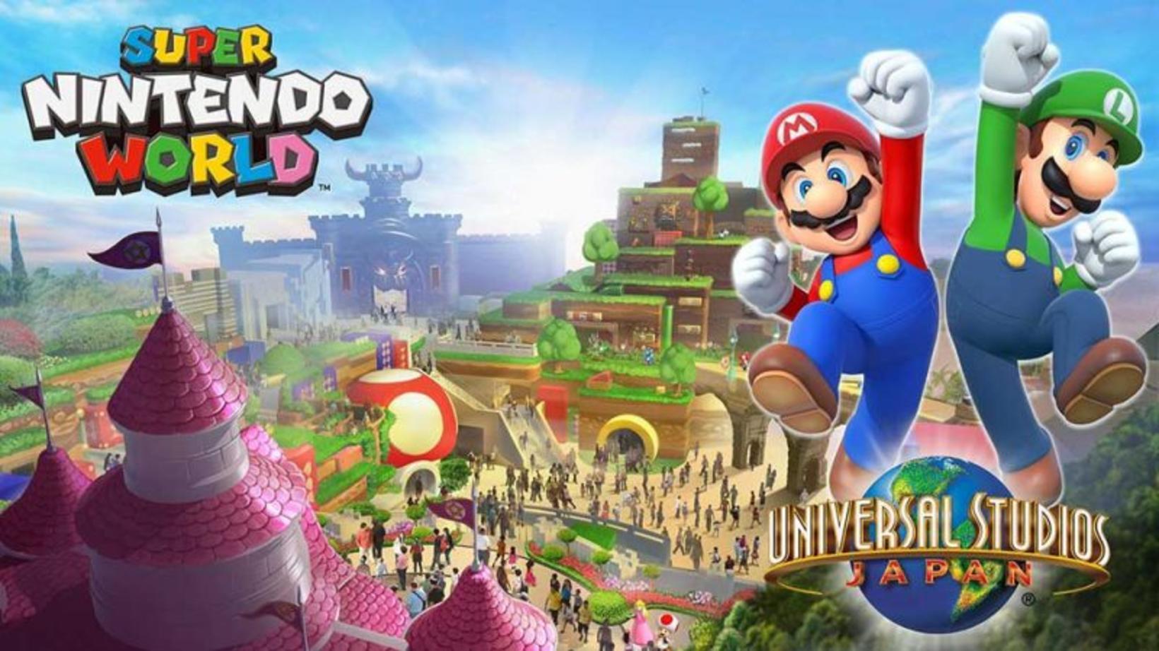 Heimur Super Mario og félaga er væntanlegur í Universal Studios …