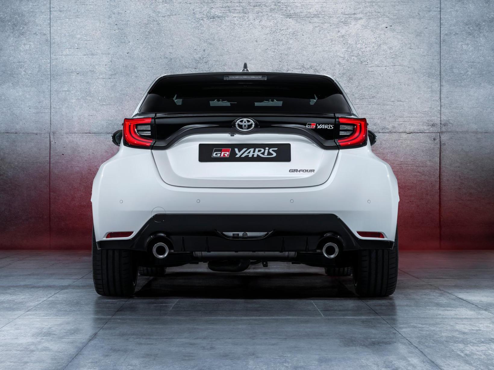 Hinn nýi og öflugi smábíll, Toyota Yaris GR.
