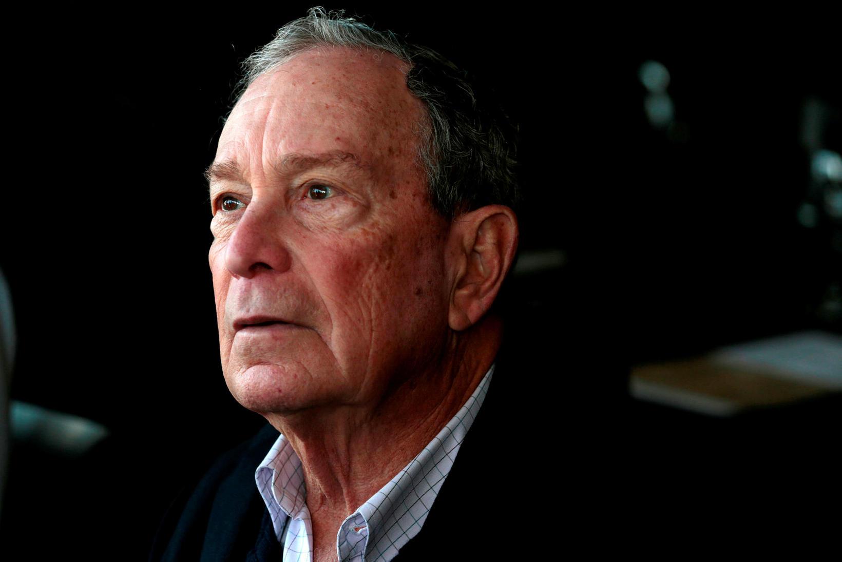 Bloomberg, sem er 78 ára gamall, hefur eytt meiri peningum …