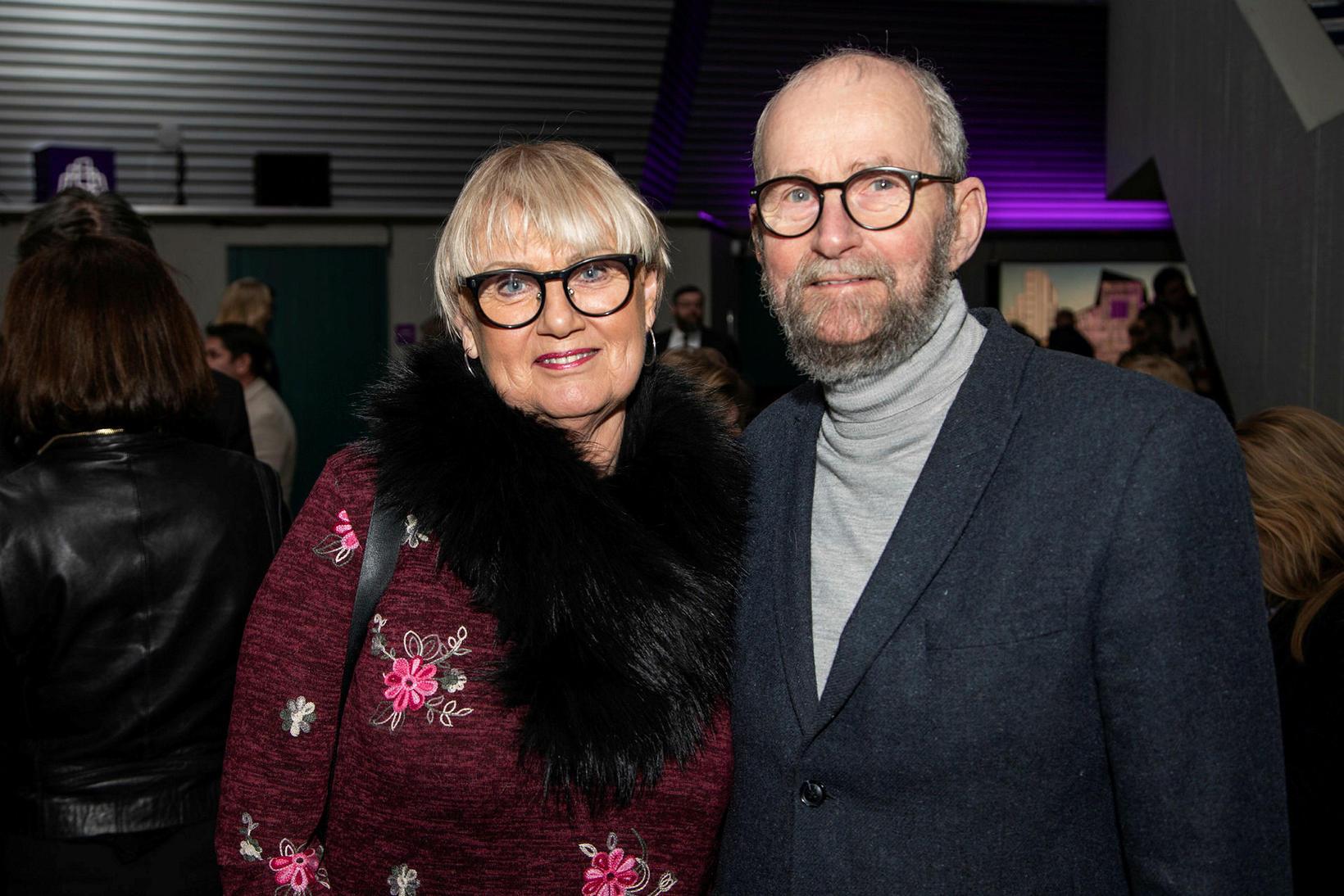 Svanhvít Sigurðardóttir og Ragnar Jörundsson.