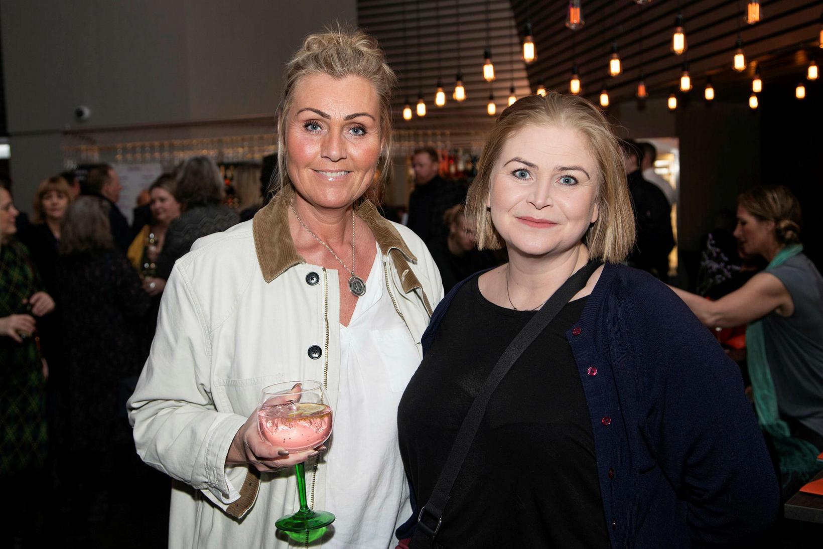 Þórunn Sif Ingvarsdóttir og Stella Hjartardóttir.