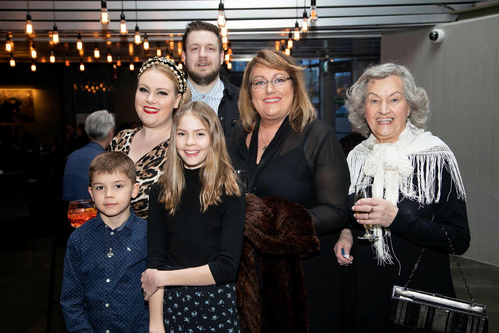 Margrét Erla Maack, Tómas Steindórsson, Ragnheiður Ólafsdóttir, Margrét Guðmundsdóttir, Egill …