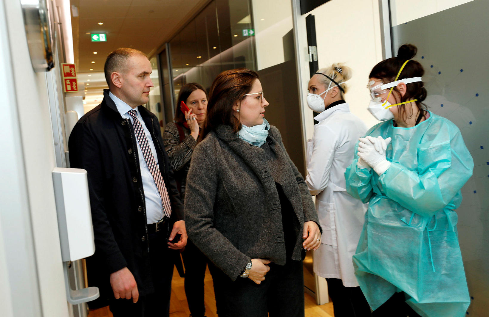 President Guðni Th. Jóhannesson and First Lady Eliza Reid, arriving …
