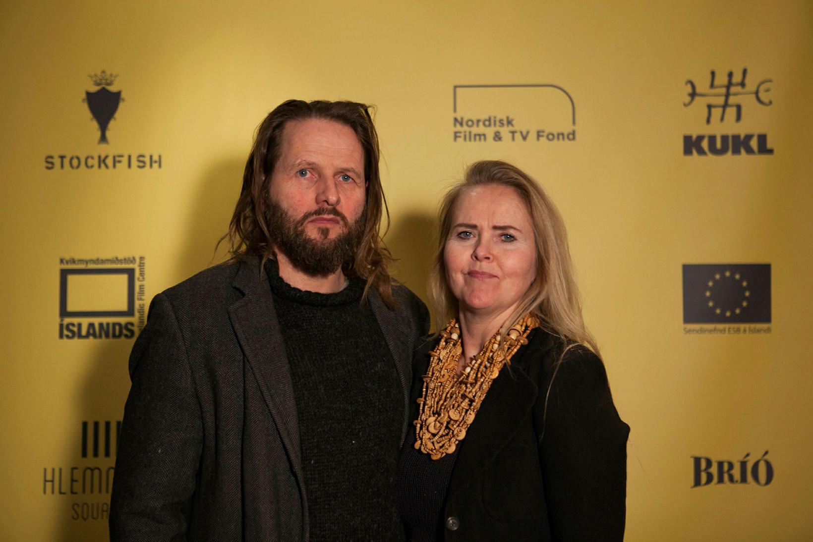 Bergsteinn Björgúlfsson og Sigríður Þóra Árdal.