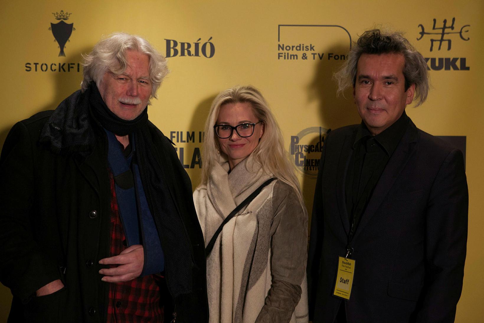 Friðrik Þór, Birna Hafstein og Ari Alexander.