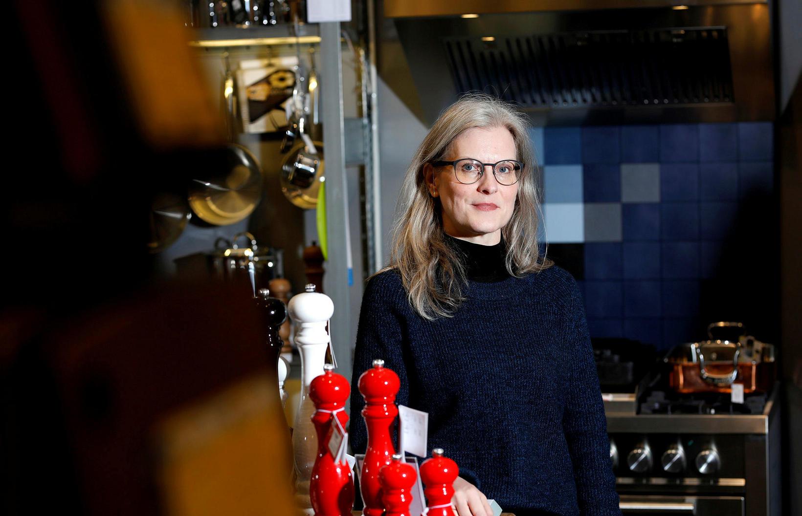 Guðrún Jóhannesdóttir í Kokku.