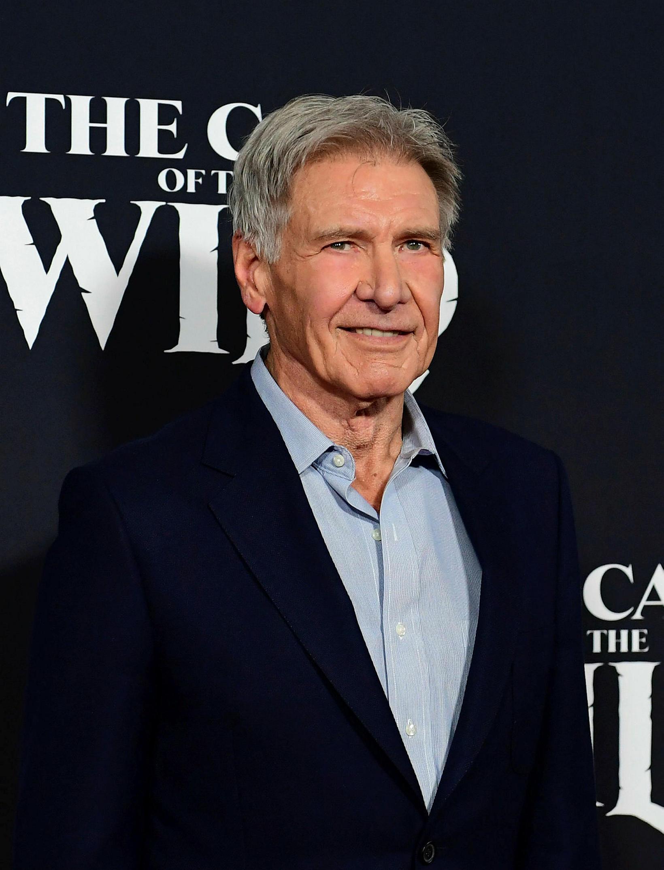 Harrison Ford á frumsýningu Call of the Wild í febrúar.