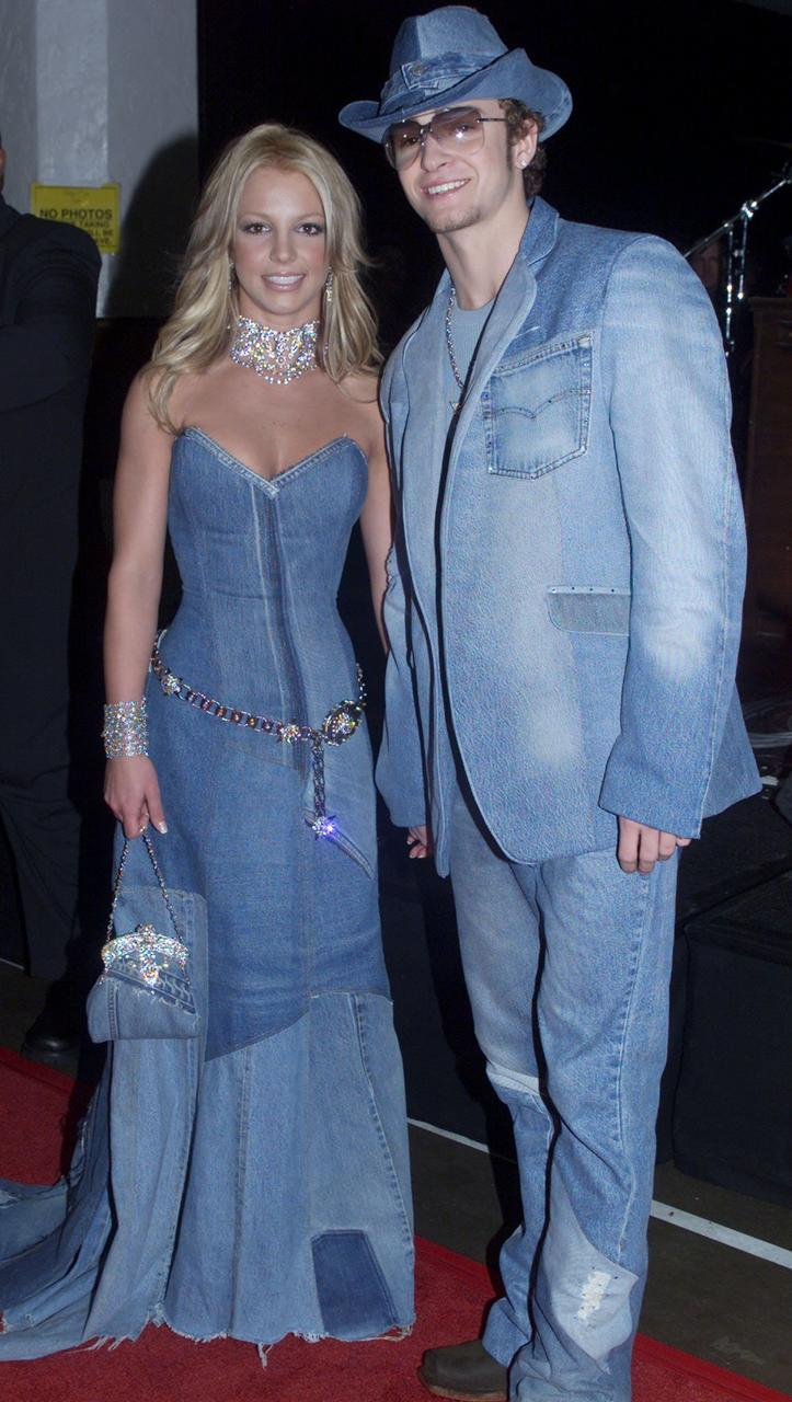 Britney Spears og Justin Timberlake.