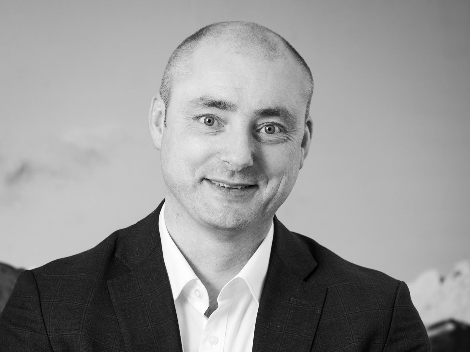 Robert Eriksson, framkvæmdastjóri Sjømatbedriftene.