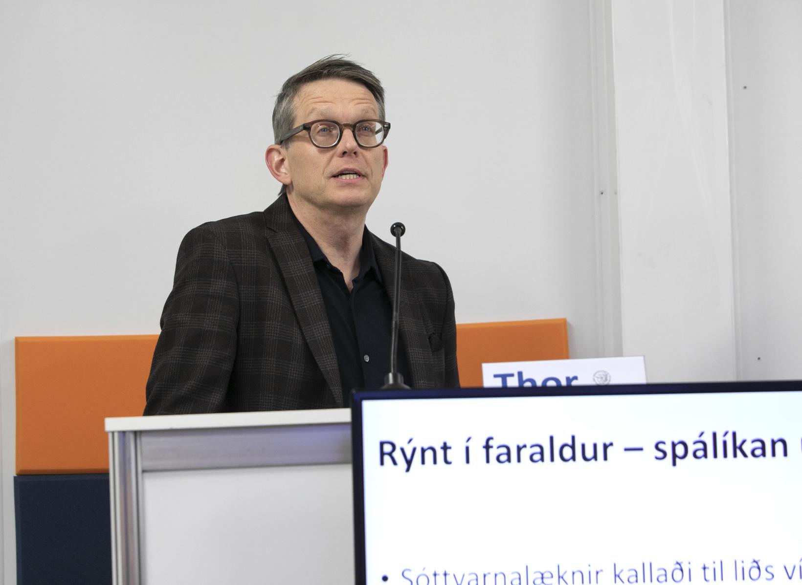 Thor Aspelund, prófessor í líftölfræði við HÍ.