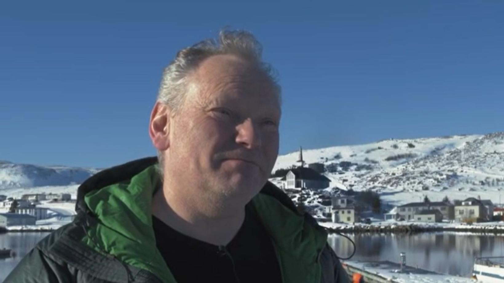 Sigurbjörn Rafn Úlfarsson, framkvæmdastjóri Hólmadrangs.