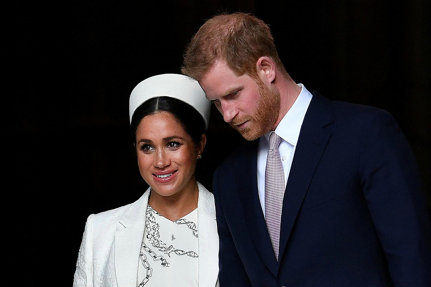 Harry og Meghan halda til í Kanada.