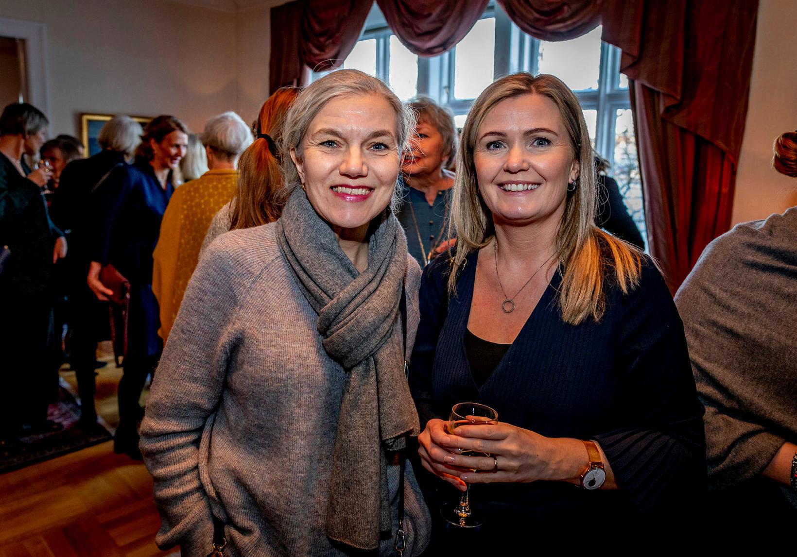 Inga Birna Einarsdóttir og Sigrún Íris Sigmarsdóttir.