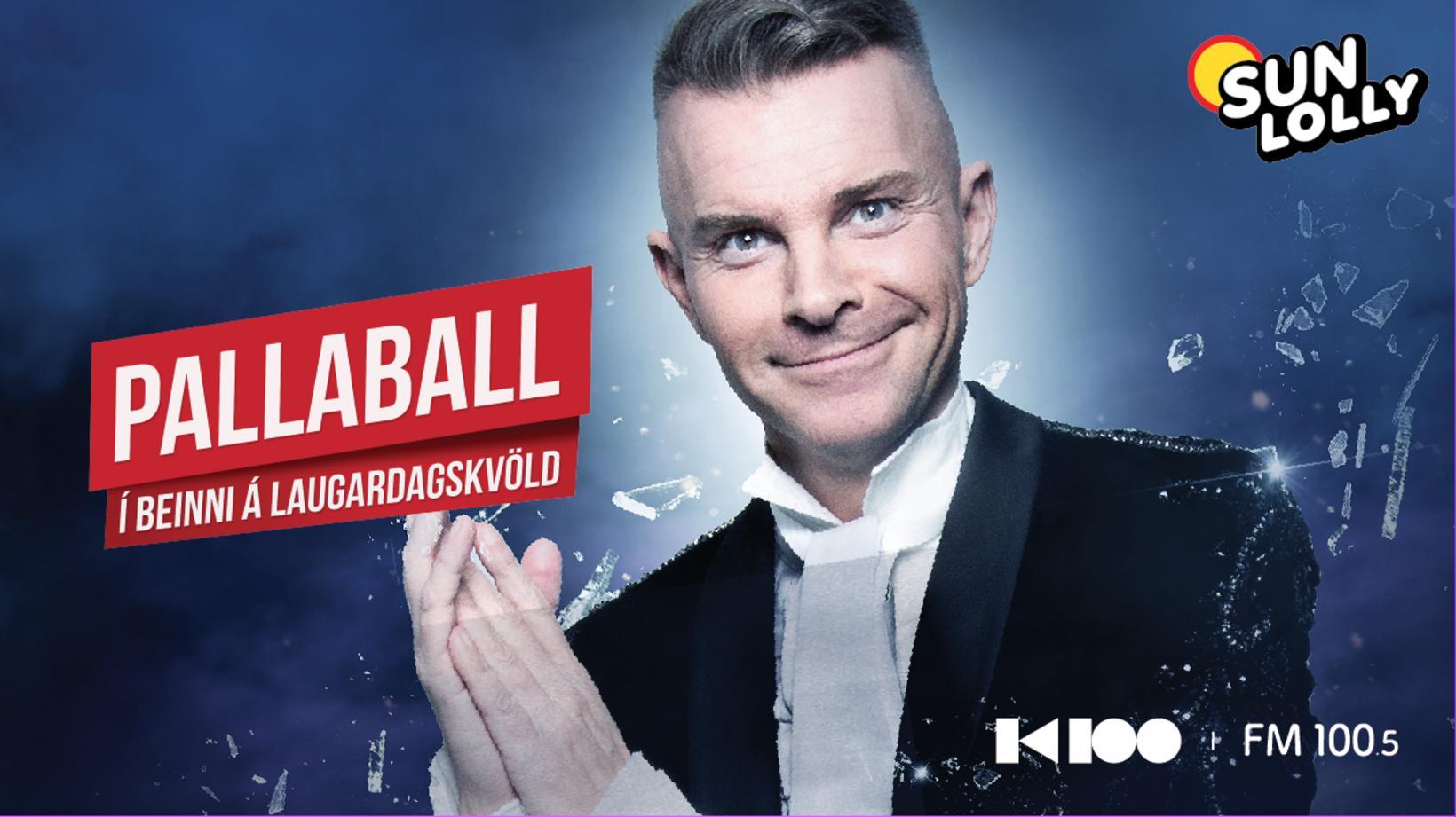 Páll Óskar slær upp Pallaballi í beinni á K100 í …