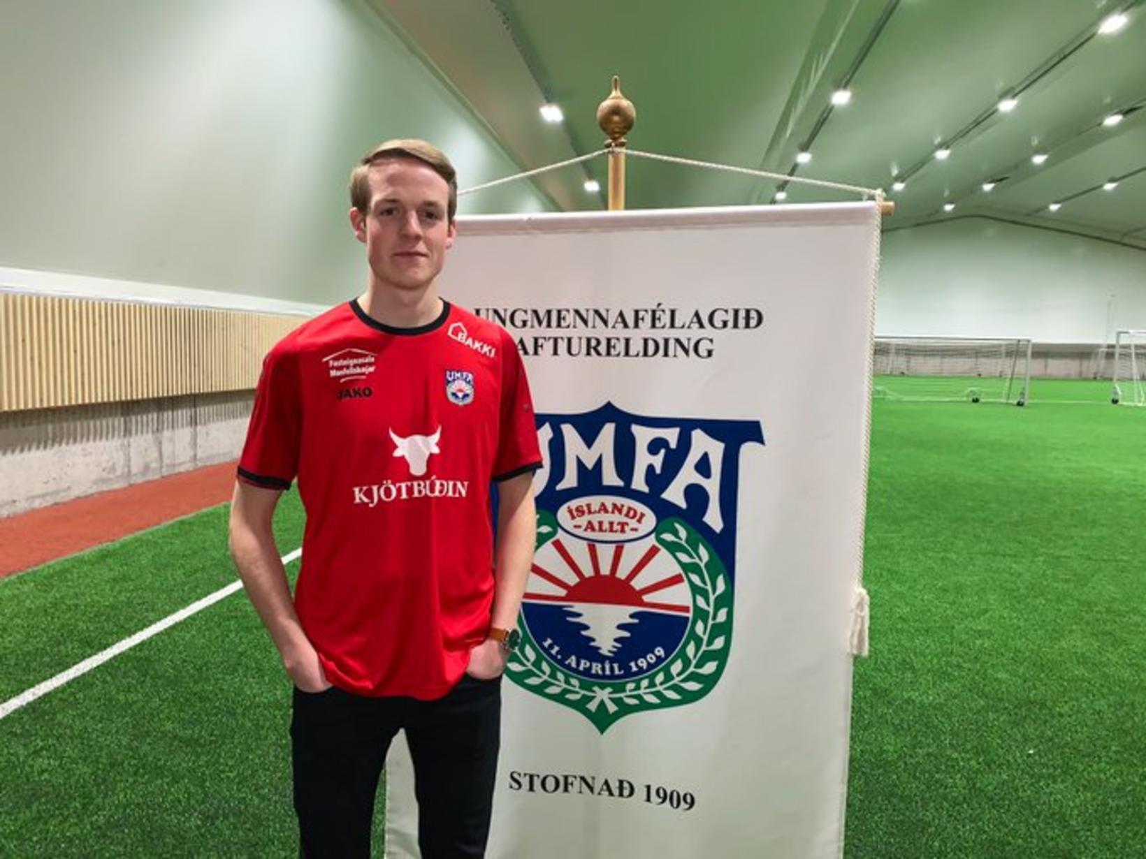 Aron Elí Sævarsson er kominn til Aftureldingar frá Val en …