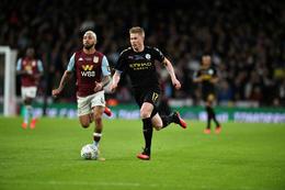 Kevin De Bruyne hefur leikið með Manchester City frá árinu 2015.