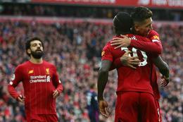 Liverpool er með 25 stiga forskot á toppi ensku úrvalsdeildarinnar þegar níu umferðir eru eftir af tímabilinu.