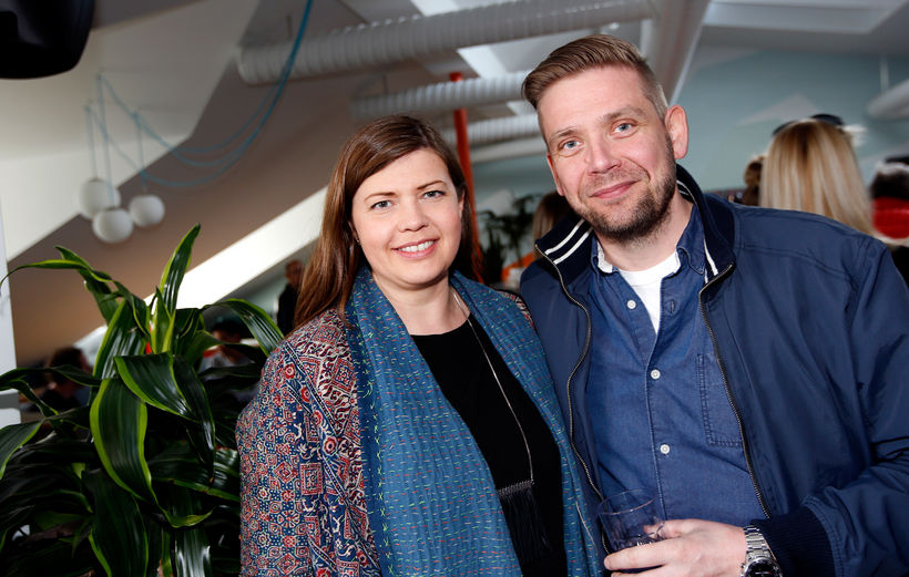 Margrét María Leifsdóttir og Guðmundur Pálsson.