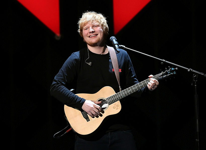 Only five weeks to go till Ed Sheeran performs in ...