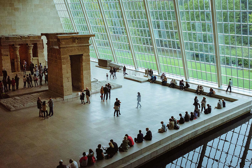 Temple of Dendur á The Metropolitan Museum of Art í ...