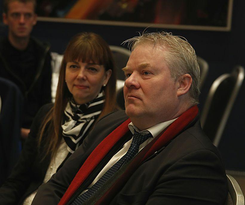 Siv Friðleifsdóttir og Sigurður Ingi Jóhannsson.