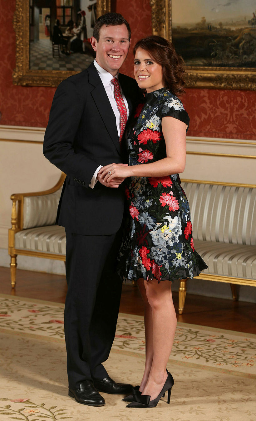 Eugenie prinsessa af York og Jack Brooksbank ganga í hjónaband ...