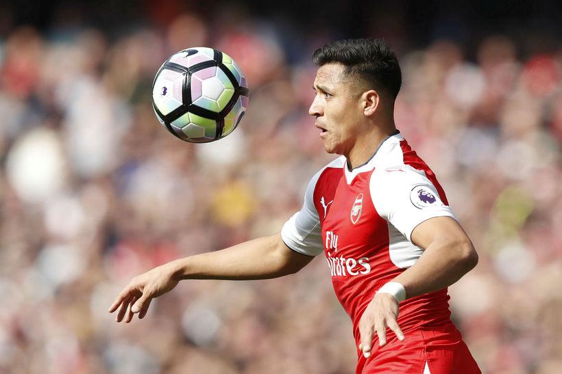 Alexis Sánchez sóknarmaður frá Síle er kominn til Manchester United ...
