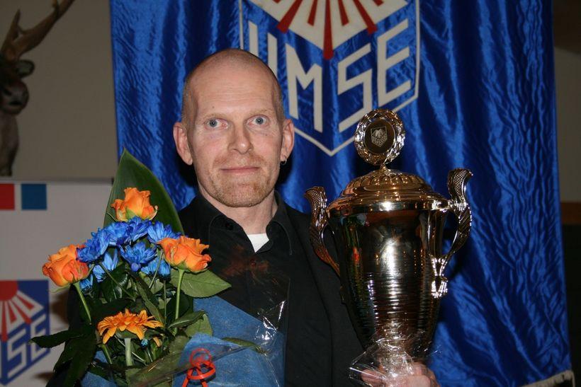 Svavar Örn Hreiðarsson, knapi úr Hestamannafélaginu Hring.