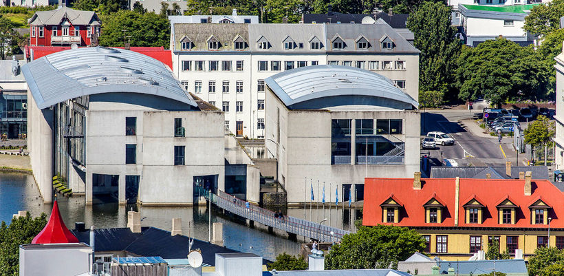 Ráðhús Reykjavíkur.