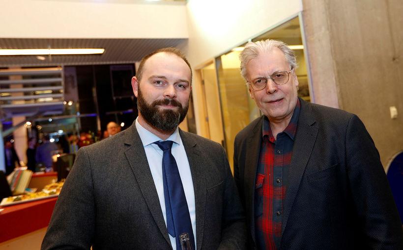 Gísli Freyr Valdórsson og Ögmundur Jónasson.