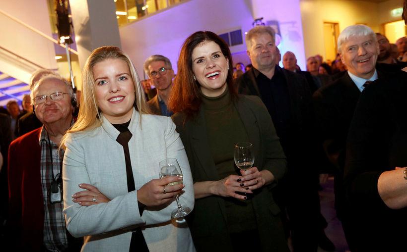 Áslaug Arna Sigurbjörnsdóttir og Þórdís Kolbrún Reykfjörð Gylfadóttir.