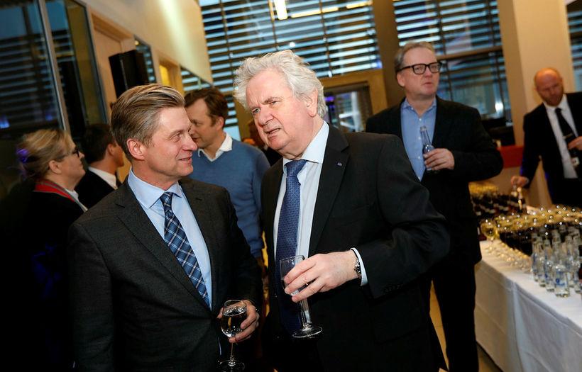 Eyþór Arnalds og Davíð Oddsson.