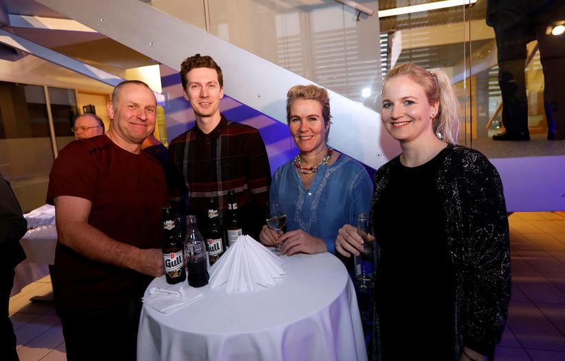 Sölvi Ólafsson, George Kristófer Young, Kristín Heiða Kristinsdóttir og Þórunn ...