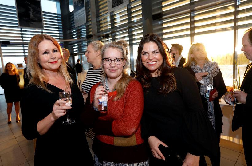 Elínrós Líndal, Guðrún Selma Sigurjónsdóttir og Marta María Jónasdóttir.