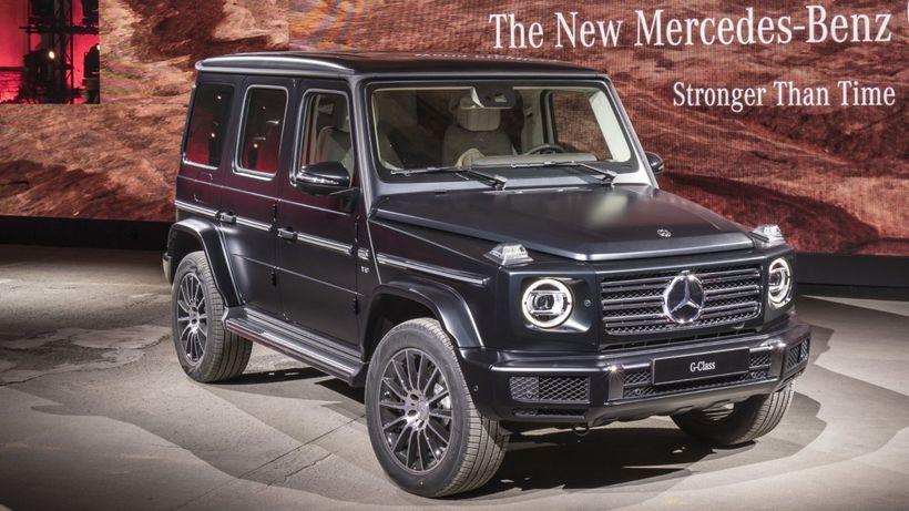 Hver hefði ekki gott af 40 Mercedes Benz G-class?