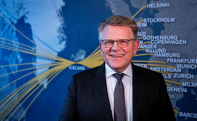 Björgólfur Jóhannsson er hættur sem forstjóri Icelandair.