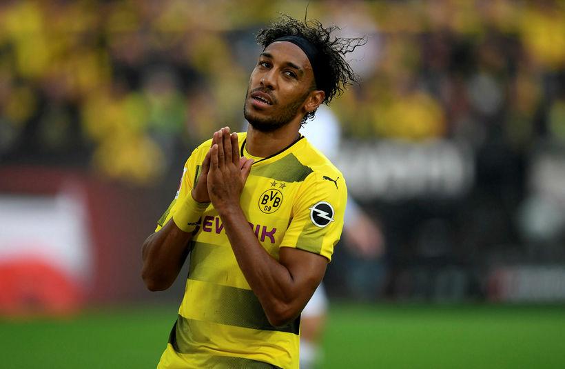 Pierre-Emerick Aubameyang framherji frá Gabon er kominn til Arsenal frá ...