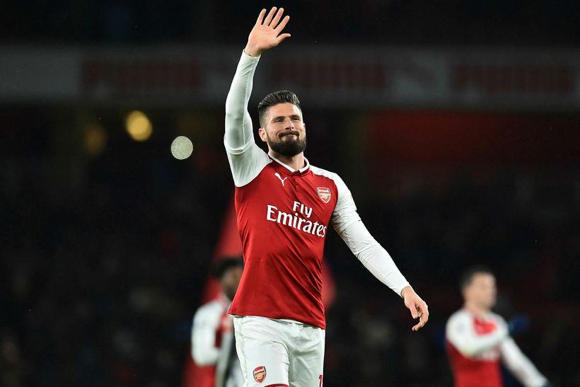 Chelsea hefur keypt franska framherjann Olivier Giroud af Arsenal fyrir ...