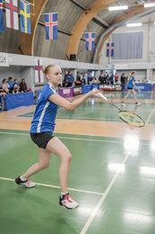 Þórunn Eylands, sigurvegari í U19-flokknum í badminton á Reykjavíkurleikunum.