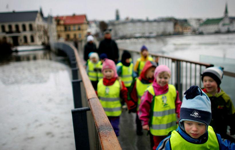 Starfshópur um nýliðun og bætt starfsumhverfi leikskólakennara í Reykjavík kynnti ...