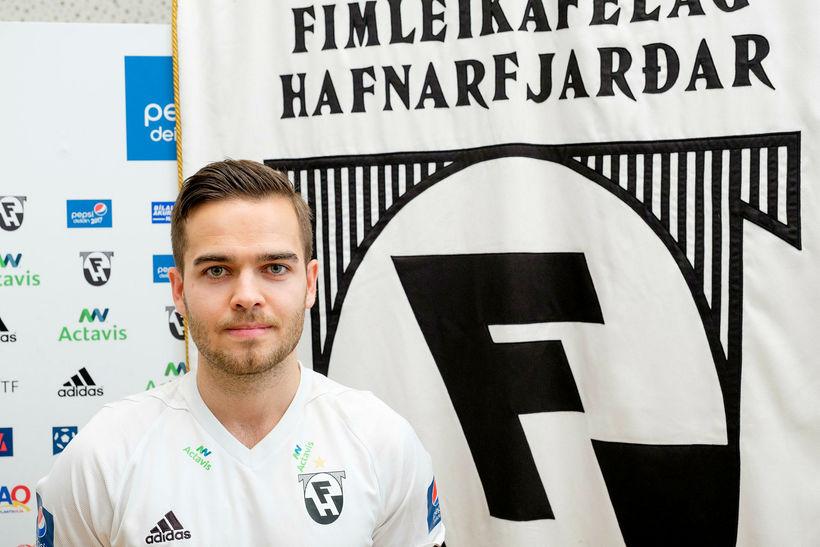 Kristinn Steindórsson er kominn til FH frá Sundsvall í Svíþjóð ...