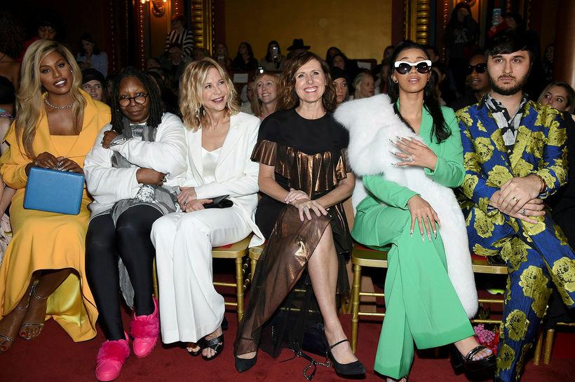 Laverne Cox, Whoopi Goldberg, Meg Ryan, Molly Shannon, Cardi B ...