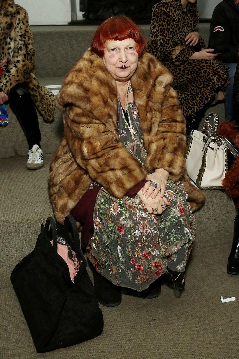 Lynn Yaeger hjá Vogue á Linder Womenswear.