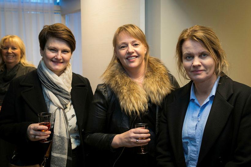 Kolbrún Ásgeirsdóttir, Sigurlaug Gissuradóttir og Ólöf María Jóhannsdóttir.
