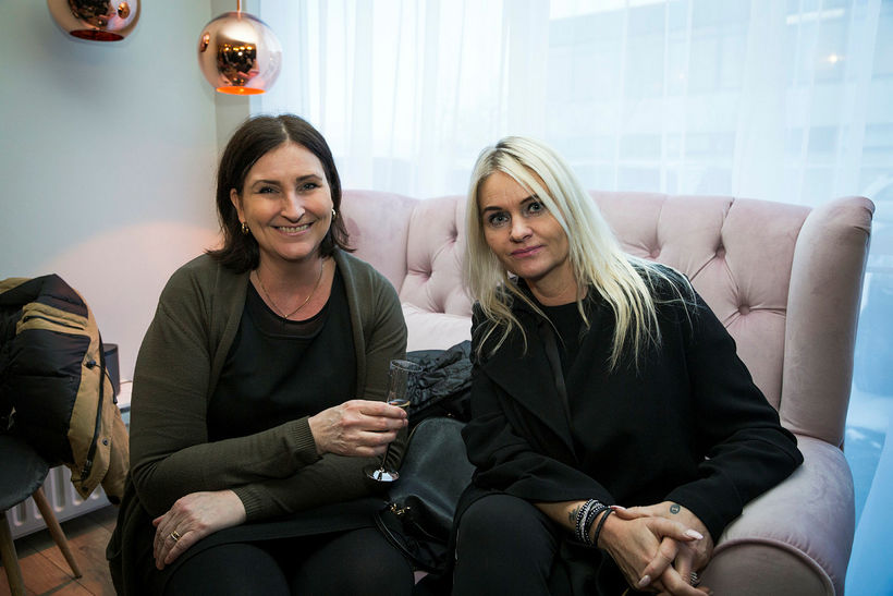 Valdís Ólafsdóttir og Dagmar Lilja Jónasdóttir.