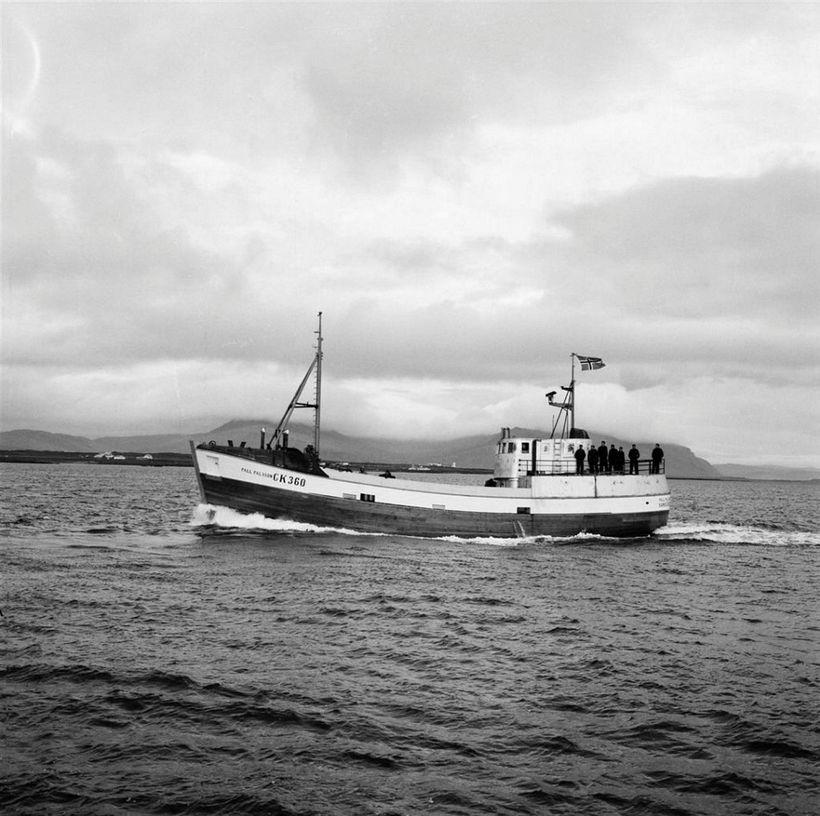 Páll Pálsson GK-360 frá Sandgerði. Síðar Heiðrún II ÍS-12.