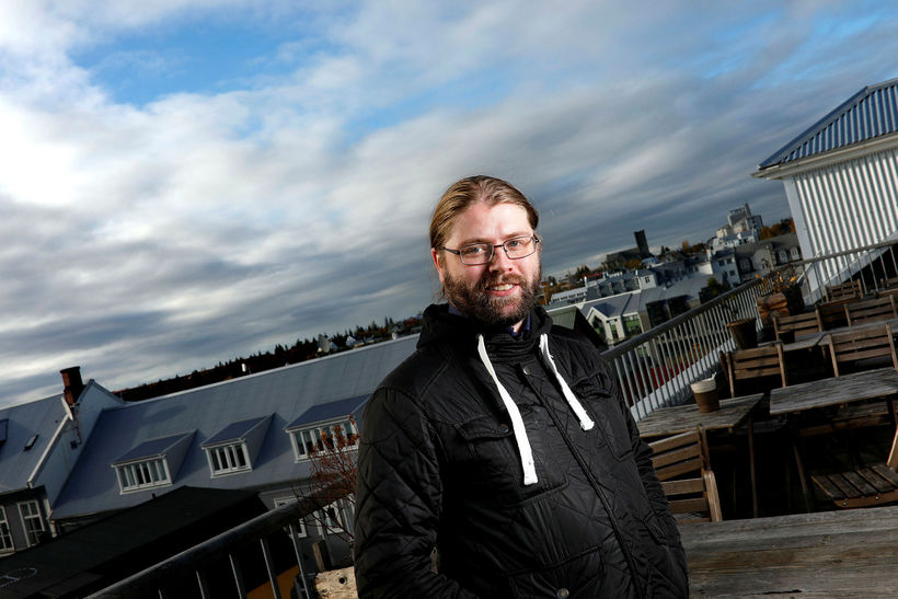 Helgi Hrafn Gunnarsson.