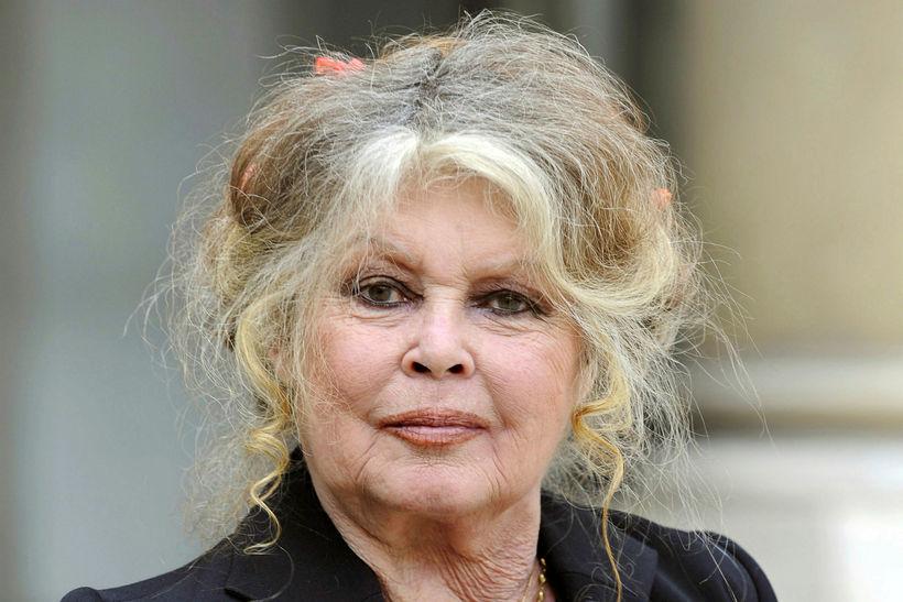 Brigitte Bardot situr ekki á skoðunum sínum.
